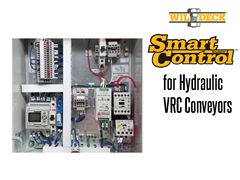 The SmartControl™ system for hydraulic VRCs provides operators with immediate alerts that a fault has occurred, the specific cause of the fault and an audible alarm announcing the fault.