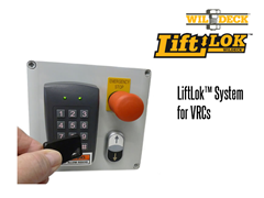 The LiftLok™ System  is a pass code protected digital keypad/key switch option for your VRC that prevents unauthorized lift operation.