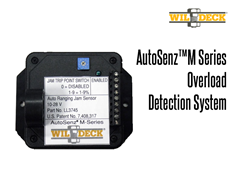 The AutoSenz M-Serie provides overload/VRC jam protection during the lifting operation.