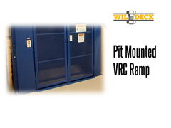 VRC Entrance Ramps assist in safe loading and unloading of freight from a VRC