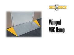 A winged VRC ramp option allows convenient side or front access.