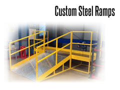 TCE automation engineers can improve your mobility safety and accessibility in a wide variety of environments utilizing combinations of metal stairs, landing platforms, crossover stairs, cage ladders and access ramping to meet any architectural need.