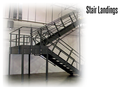 Stair Landings meet OSHA and ADA requirements, allowing for increased safety and performance