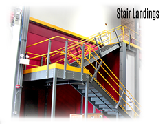 Internal and external stairway designs are available