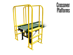 Step Over Conveyor Crossovers come in single and double conveyor configurations.