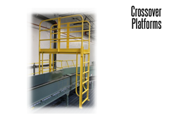Vertical Climb Conveyor Crossovers are designed to maximize space savings.