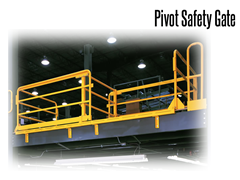 Loading and unloading areas can be fully protected, reducing hazards, accidents and injury from falling materials.