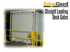 EdgeGard™ are easy to install and operate, and provide an effective barrier for personnel and equipment working near open dock doors, truck loading pits or other hazardous areas.