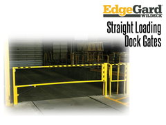 When properly anchored, EdgeGard™ gates meet the 200 lb. OSHA 1910.23 load force protection requirement