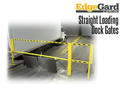 The cantilever action of the EdgeGard™ gate design ensures easy operation and long service life. When raised, the gate completely clears the opening providing unimpeded traffic flow and accessibility. When closed, the gate is held securely in place and does not move.