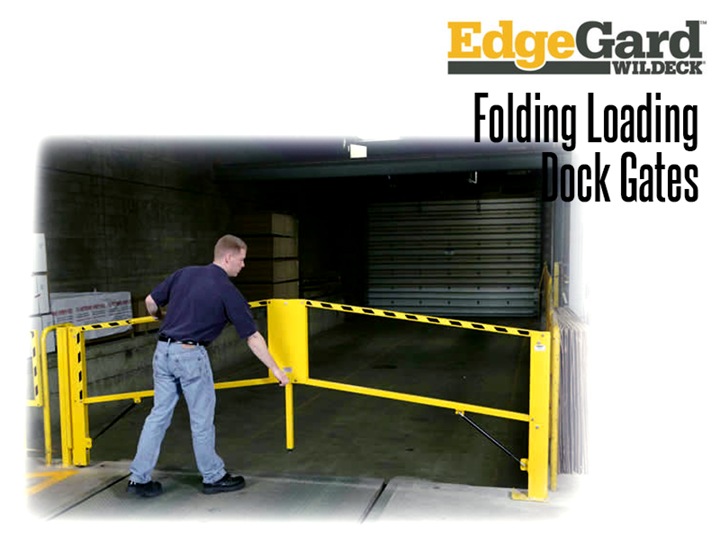 EdgeGard™ Dock Gates provide an effective barrier for personnel and equipment working near open dock doors, truck loading pits or other hazardous areas.