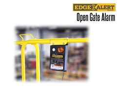 Increase facility safety and avoid OSHA violations with an EdgeAlert™ Open Gate Alarm system