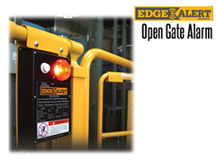 Whether it is used to signal an exposed, open ledge on an elevated surface; or protect against OSHA open gate violations, EdgeAlert™ will help encourage a safer workplace.