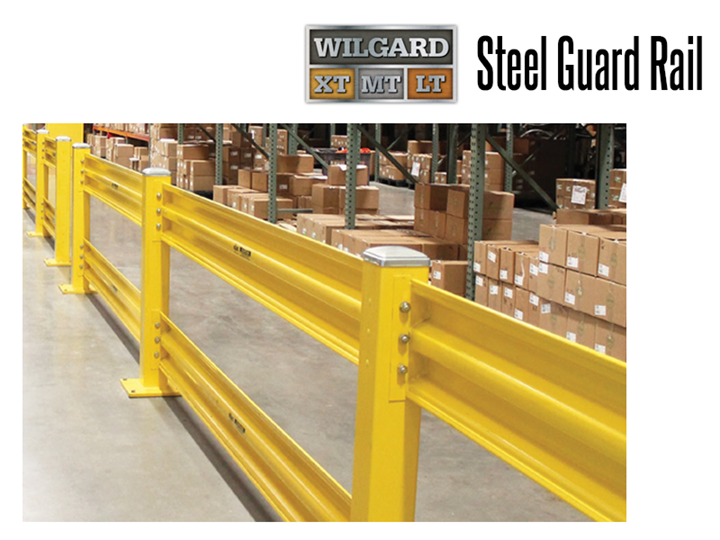 Wilgard™ Safety Guard Rail protects employees across the workplace from injuries and accidents caused by moving vehicles.