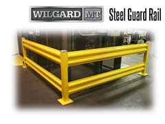 Wilgard™ MT Medium Duty Steel Guard Rail is second only in strength to the XT.