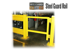 Wildeck™ Industrial Safety Guard Rail protects employees across the workplace from injuries and accidents caused by moving vehicles.