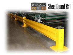 Wilgard® XT guard rail systems are painted safety yellow and provide a highly visible barrier that protects expensive equipment, provides a barrier to key work areas, and helps define traffic lanes in your plant or facility.