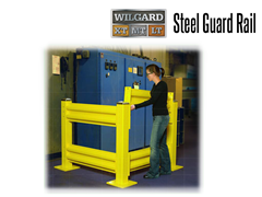 Wildeck™ Wilgard™ Steel Guard Rail Systems offer a Lift-Out Rail Option