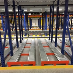Picture for category Pallet Flow Racking and Case Flow Racking Systems