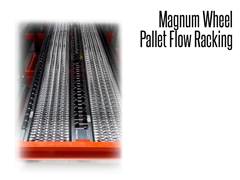 Magnum wheels are manufactured from rugged, reinforced resin that withstands harsh conditions without splitting or cracking, saving you pricey replacement costs and pallet racking system downtime.
