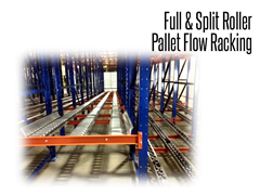 Full roller pallet flow rack is the most flexible type of pallet flow racking, ideal for a variety of pallet sizes and warehousing needs.