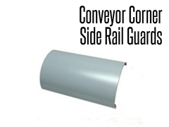 Conveyor Corner Side Rail Guards protects the conveyor from damages and protects employees from injuries