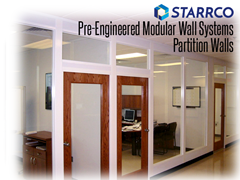 Separating workspaces can be accomplished by:  Creating individual modular offices; Adding walls to existing open spaces; Installing half-walls or privacy panels to divide open workspaces