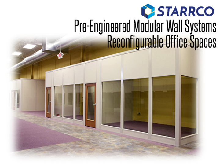 Modular computer room enclosures from Starrco Modular offices and portable buildings are a solid and secure infrastructure choice for centralized IT and computer rooms.