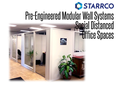 Whether you need modular office partitions to fit into your existing space or a complete modular office solution, we can engineer the perfect office wall system to meet your needs.