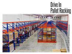 Drive-In storage systems eliminate the need for warehouse expansion