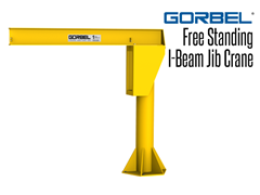 Picture for Gorbel I-Beam Jib Cranes