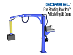 The Free Standing PIVOT PRO® is great for vacuum lifting applications or lighter capacity applications where an articulated arm would be beneficial.
