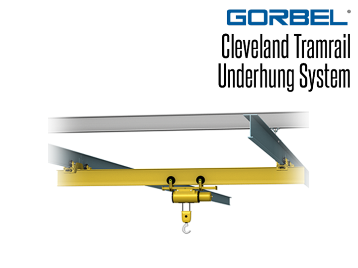 Cleveland Tramrails' patented underhung crane systems provide reliable, long-lasting service in high-duty-cycle applications such as loading docks, parts assembly, equipment maintenance and truck service centers.