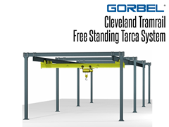 The Free Standing Tarca™ system provides consistently straight rail sections and durable components that ensure long, productive service life.