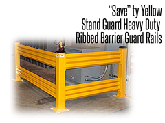 Stand Guard™ Heavy Duty Guard Rail