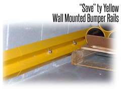 Stand Guard™ Wall Mounted Bumper Rail