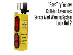 Look Out  2 Collision Awareness Sensor Alert Warning System