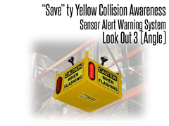 Look Out  3 Collision Awareness Sensor Alert Warning System (Angle)