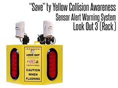 Look Out  3 Collision Awareness Sensor Alert Warning System (Rack)