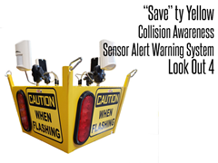 Look Out  4 Collision Awareness Sensor Alert Warning System