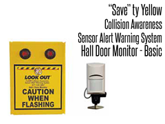 Hall Door Monitor Basic, Collision Awareness Sensor Alert Warning System