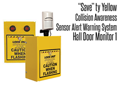 Hall Door Monitor 1, Collision Awareness Sensor Alert Warning System