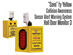 Hall Door Monitor 3, Collision Awareness Sensor Alert Warning System