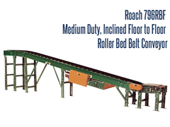 Picture for Floor-to-Floor Inclined Belt Conveyor, Roach Model 796RBF
