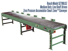 Picture for Medium Duty Line Shaft Driven Zero Pressure Accumulator, Roach Model SZ796LSZ Smart Zone™