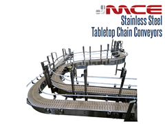 Stainless Steel Table top Conveyor System