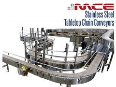 Multi-Line Stainless Steel Table top Conveyor System