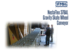 The NestaFlex® 376 AL/FL:  Model AL offers adjustable leg lengths, while Model FL offers a preset fixed leg length.