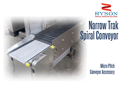 Ryson Narrow Trak Spiral Conveyor Micro Pitch Conveyor Accessory