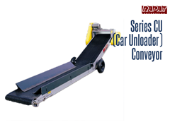 Bulk Handling Series CU Conveyor is the answer for unloading bulk materials such as beans, grains, sand and fertilizer from controlled-opening hopper-bottomed railcars and trailers